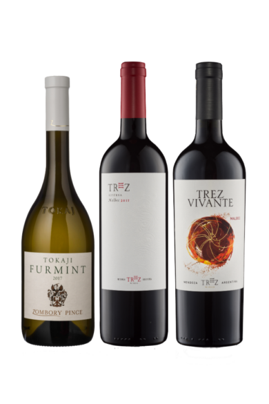 Red & White Trio Selection